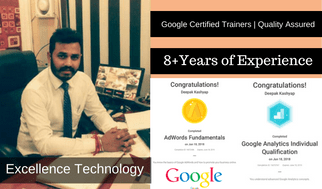 7 Years of Experience - SEO Course in Chandigarh