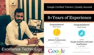 Deepak Kashyap Google certified