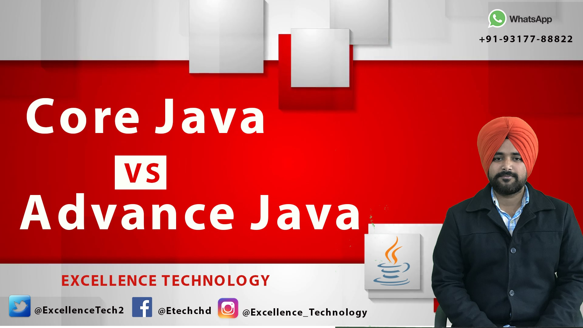 java training companies in chandigarh | excellence technology